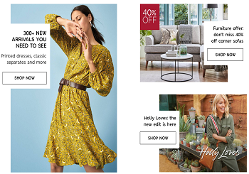 Marks and Spencer Vouchers