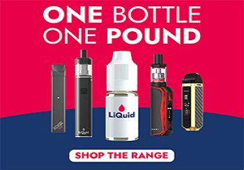 One Pound E Liquid Vouchers