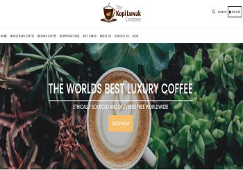 The Kopi Luwak Company Coupons