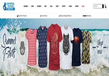Universal Textiles UK Vouchers